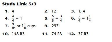 Algebra 2 Unit 5 Lesson 1 Homework Answers